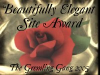 Beautifully Elegant Site Award