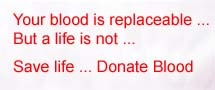 Donate Blood, Save A Precious Life