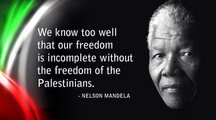 Dr. Nelson Mandela was indeed highly critical of the Israeli occupation and the absence of an independent Palestine from map of the world.  But Dr. Nelson Mandela endorsed Israel�s right to exist.