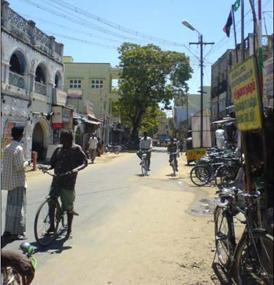 Main Road Near Post Office
