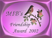 Mibs Friendship Award
